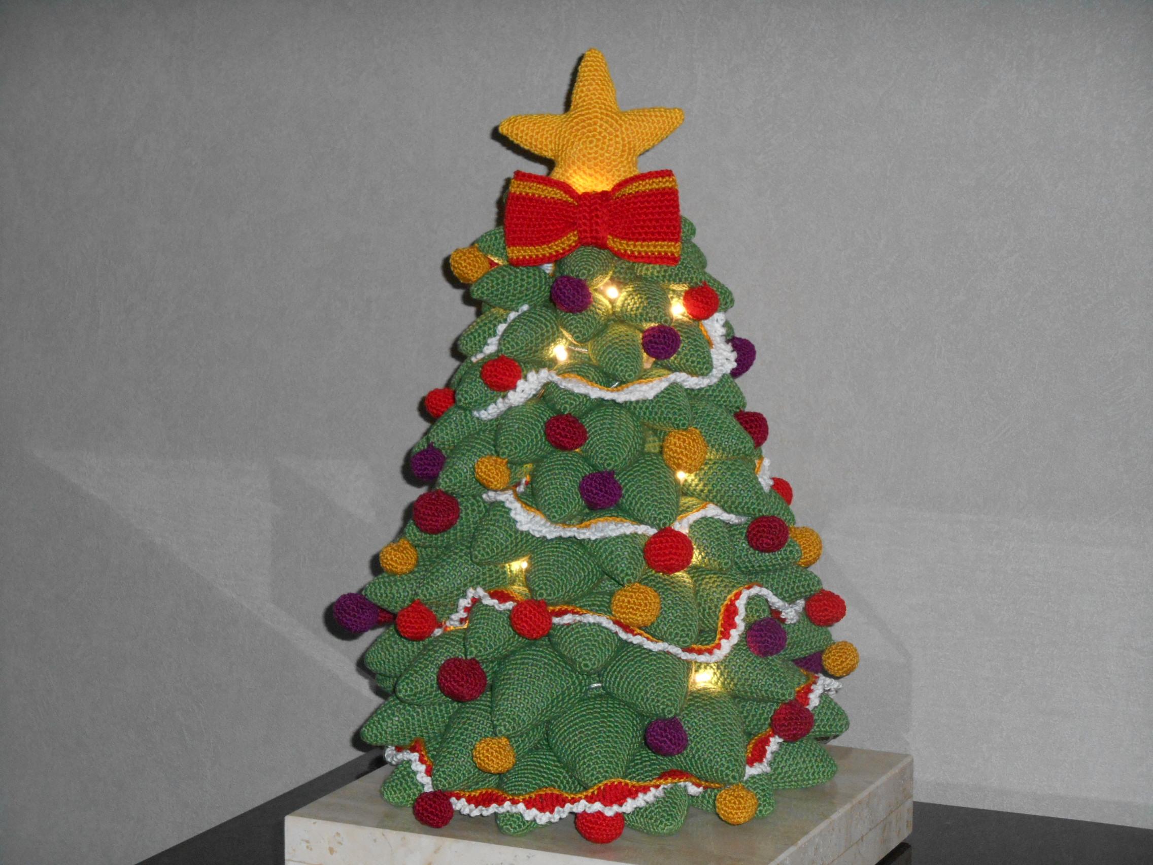 Kerstboom Met Haken En Ogen